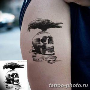 Фото рисунка тату череп 24.11.2018 №172 - photo tattoo skull - tattoo-photo.ru