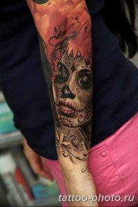 Фото рисунка тату череп 24.11.2018 №173 - photo tattoo skull - tattoo-photo.ru