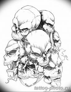 Фото рисунка тату череп 24.11.2018 №178 - photo tattoo skull - tattoo-photo.ru