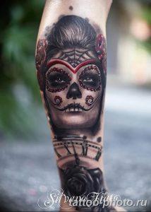 Фото рисунка тату череп 24.11.2018 №180 - photo tattoo skull - tattoo-photo.ru