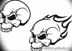 Фото рисунка тату череп 24.11.2018 №181 - photo tattoo skull - tattoo-photo.ru