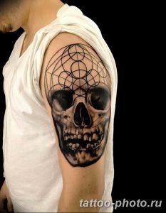 Фото рисунка тату череп 24.11.2018 №182 - photo tattoo skull - tattoo-photo.ru