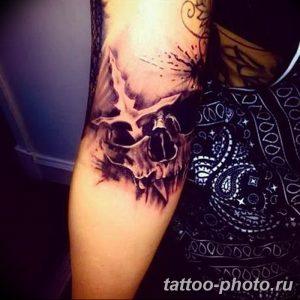 Фото рисунка тату череп 24.11.2018 №183 - photo tattoo skull - tattoo-photo.ru