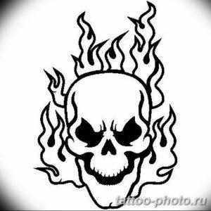 Фото рисунка тату череп 24.11.2018 №185 - photo tattoo skull - tattoo-photo.ru
