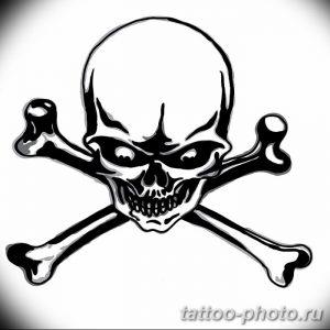 Фото рисунка тату череп 24.11.2018 №188 - photo tattoo skull - tattoo-photo.ru