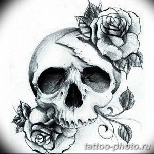 Фото рисунка тату череп 24.11.2018 №189 - photo tattoo skull - tattoo-photo.ru
