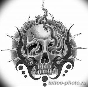 Фото рисунка тату череп 24.11.2018 №190 - photo tattoo skull - tattoo-photo.ru
