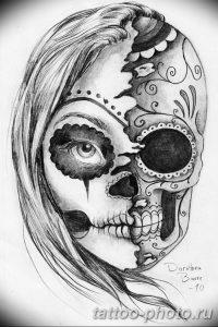 Фото рисунка тату череп 24.11.2018 №194 - photo tattoo skull - tattoo-photo.ru