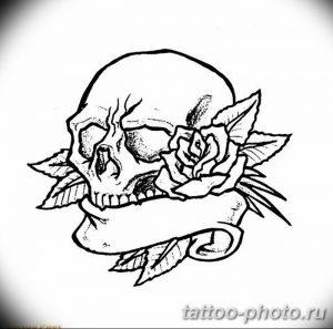 Фото рисунка тату череп 24.11.2018 №195 - photo tattoo skull - tattoo-photo.ru