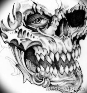Фото рисунка тату череп 24.11.2018 №196 - photo tattoo skull - tattoo-photo.ru