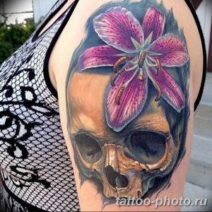 Фото рисунка тату череп 24.11.2018 №199 - photo tattoo skull - tattoo-photo.ru