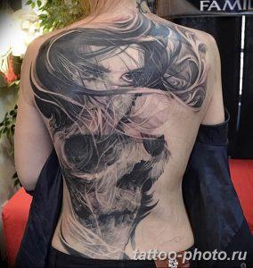 Фото рисунка тату череп 24.11.2018 №201 - photo tattoo skull - tattoo-photo.ru