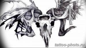 Фото рисунка тату череп 24.11.2018 №204 - photo tattoo skull - tattoo-photo.ru