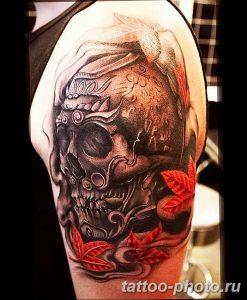 Фото рисунка тату череп 24.11.2018 №210 - photo tattoo skull - tattoo-photo.ru