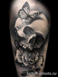 Фото рисунка тату череп 24.11.2018 №211 - photo tattoo skull - tattoo-photo.ru