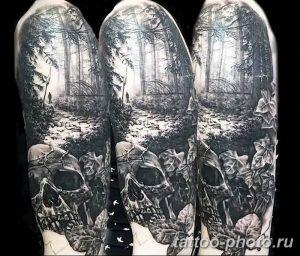 Фото рисунка тату череп 24.11.2018 №213 - photo tattoo skull - tattoo-photo.ru