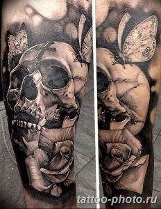 Фото рисунка тату череп 24.11.2018 №217 - photo tattoo skull - tattoo-photo.ru