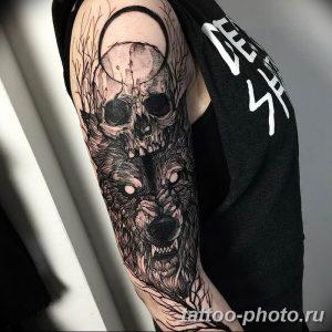 Фото рисунка тату череп 24.11.2018 №223 - photo tattoo skull - tattoo-photo.ru