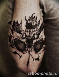 Фото рисунка тату череп 24.11.2018 №224 - photo tattoo skull - tattoo-photo.ru