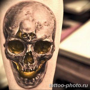 Фото рисунка тату череп 24.11.2018 №225 - photo tattoo skull - tattoo-photo.ru