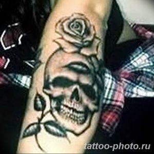 Фото рисунка тату череп 24.11.2018 №226 - photo tattoo skull - tattoo-photo.ru