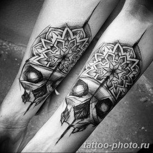 Фото рисунка тату череп 24.11.2018 №228 - photo tattoo skull - tattoo-photo.ru