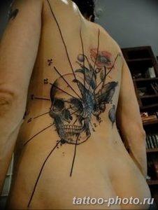 Фото рисунка тату череп 24.11.2018 №233 - photo tattoo skull - tattoo-photo.ru
