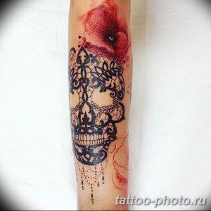 Фото рисунка тату череп 24.11.2018 №236 - photo tattoo skull - tattoo-photo.ru