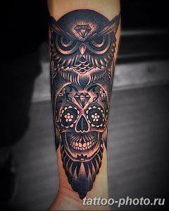 Фото рисунка тату череп 24.11.2018 №238 - photo tattoo skull - tattoo-photo.ru