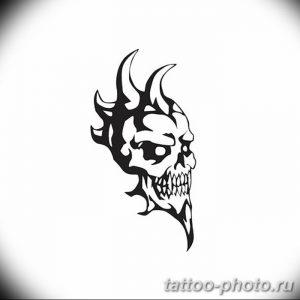 Фото рисунка тату череп 24.11.2018 №239 - photo tattoo skull - tattoo-photo.ru
