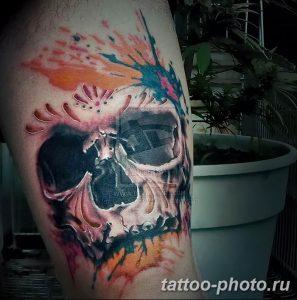 Фото рисунка тату череп 24.11.2018 №243 - photo tattoo skull - tattoo-photo.ru