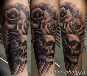 Фото рисунка тату череп 24.11.2018 №246 - photo tattoo skull - tattoo-photo.ru