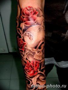 Фото рисунка тату череп 24.11.2018 №255 - photo tattoo skull - tattoo-photo.ru