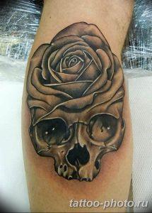 Фото рисунка тату череп 24.11.2018 №261 - photo tattoo skull - tattoo-photo.ru
