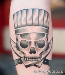 Фото рисунка тату череп 24.11.2018 №262 - photo tattoo skull - tattoo-photo.ru