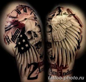 Фото рисунка тату череп 24.11.2018 №263 - photo tattoo skull - tattoo-photo.ru