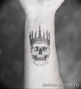 Фото рисунка тату череп 24.11.2018 №266 - photo tattoo skull - tattoo-photo.ru