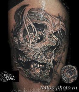 Фото рисунка тату череп 24.11.2018 №274 - photo tattoo skull - tattoo-photo.ru