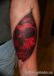 Фото рисунка тату череп 24.11.2018 №275 - photo tattoo skull - tattoo-photo.ru