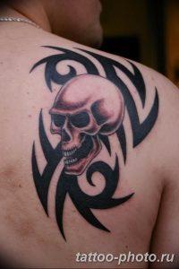 Фото рисунка тату череп 24.11.2018 №278 - photo tattoo skull - tattoo-photo.ru