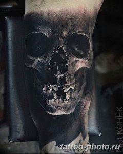 Фото рисунка тату череп 24.11.2018 №280 - photo tattoo skull - tattoo-photo.ru