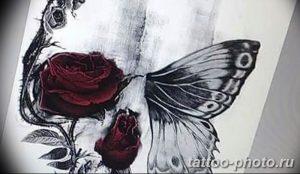 Фото рисунка тату череп 24.11.2018 №281 - photo tattoo skull - tattoo-photo.ru