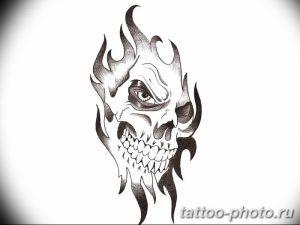 Фото рисунка тату череп 24.11.2018 №286 - photo tattoo skull - tattoo-photo.ru