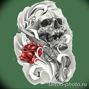 Фото рисунка тату череп 24.11.2018 №287 - photo tattoo skull - tattoo-photo.ru
