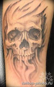 Фото рисунка тату череп 24.11.2018 №289 - photo tattoo skull - tattoo-photo.ru