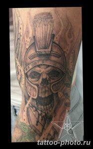 Фото рисунка тату череп 24.11.2018 №290 - photo tattoo skull - tattoo-photo.ru
