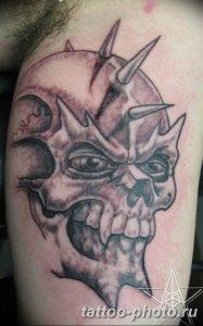 Фото рисунка тату череп 24.11.2018 №291 - photo tattoo skull - tattoo-photo.ru