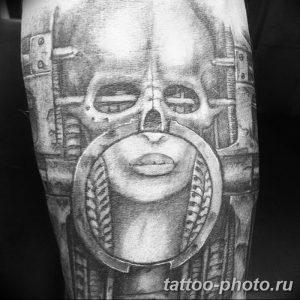 Фото рисунка тату череп 24.11.2018 №292 - photo tattoo skull - tattoo-photo.ru