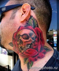 Фото рисунка тату череп 24.11.2018 №295 - photo tattoo skull - tattoo-photo.ru