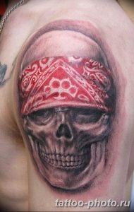 Фото рисунка тату череп 24.11.2018 №299 - photo tattoo skull - tattoo-photo.ru